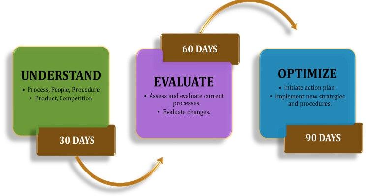 30-60-90 Day Plan Description