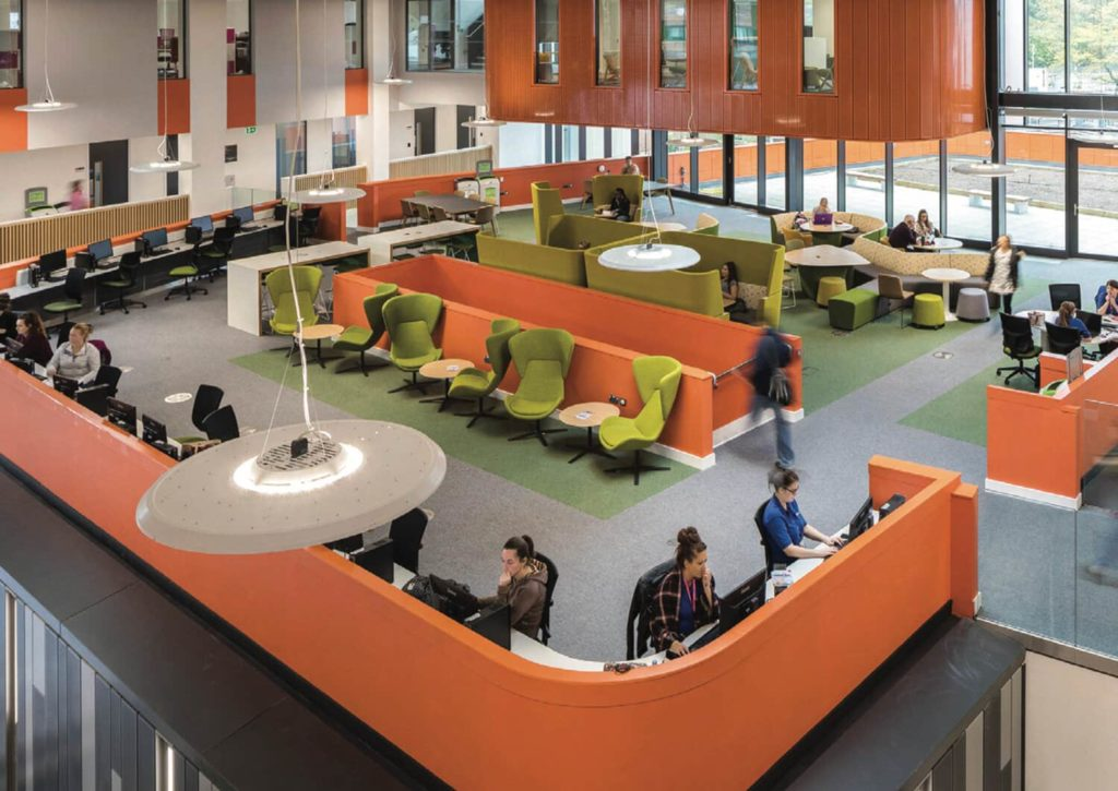 Collaborative Workspaces with an Open Floor Plan
