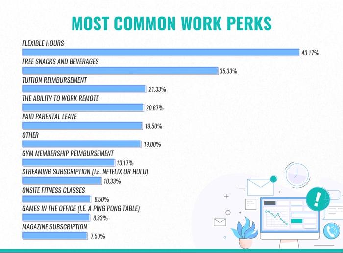 Common Work Perks