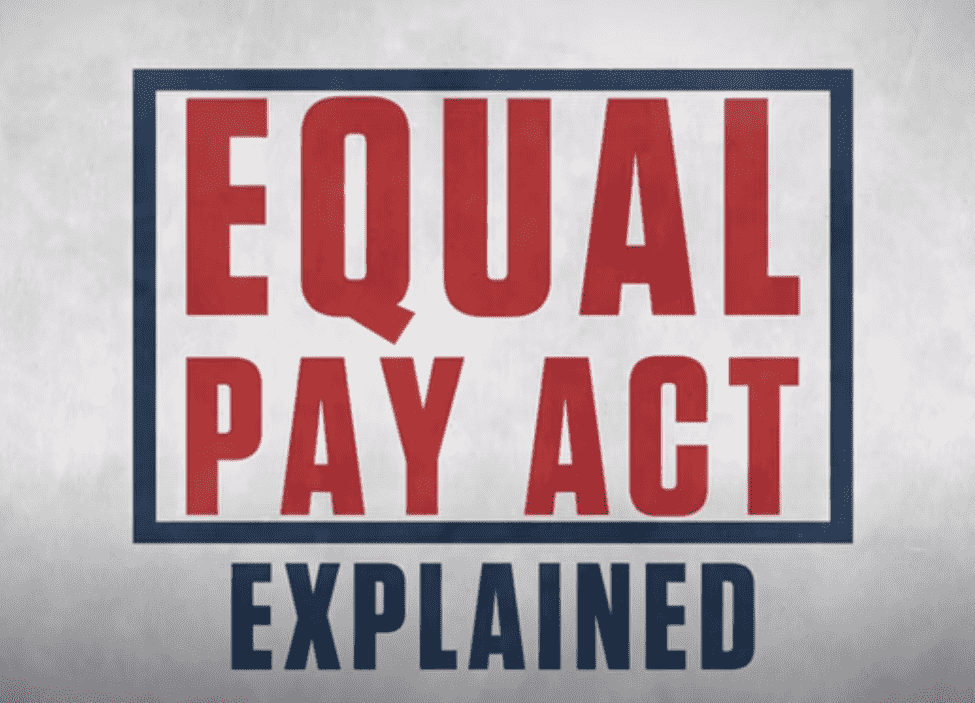 Equal Pay Act Featured Image