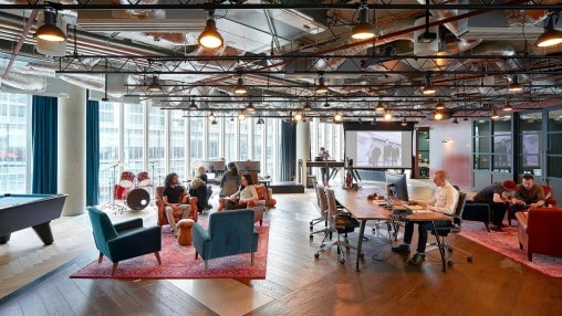 Microsoft Office in Paddington with a Collaborative Workspace