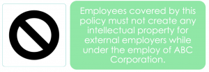 moonlighting policy example 7